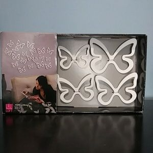 Umbra Loft Butterfly Wall Art 3 D NIB